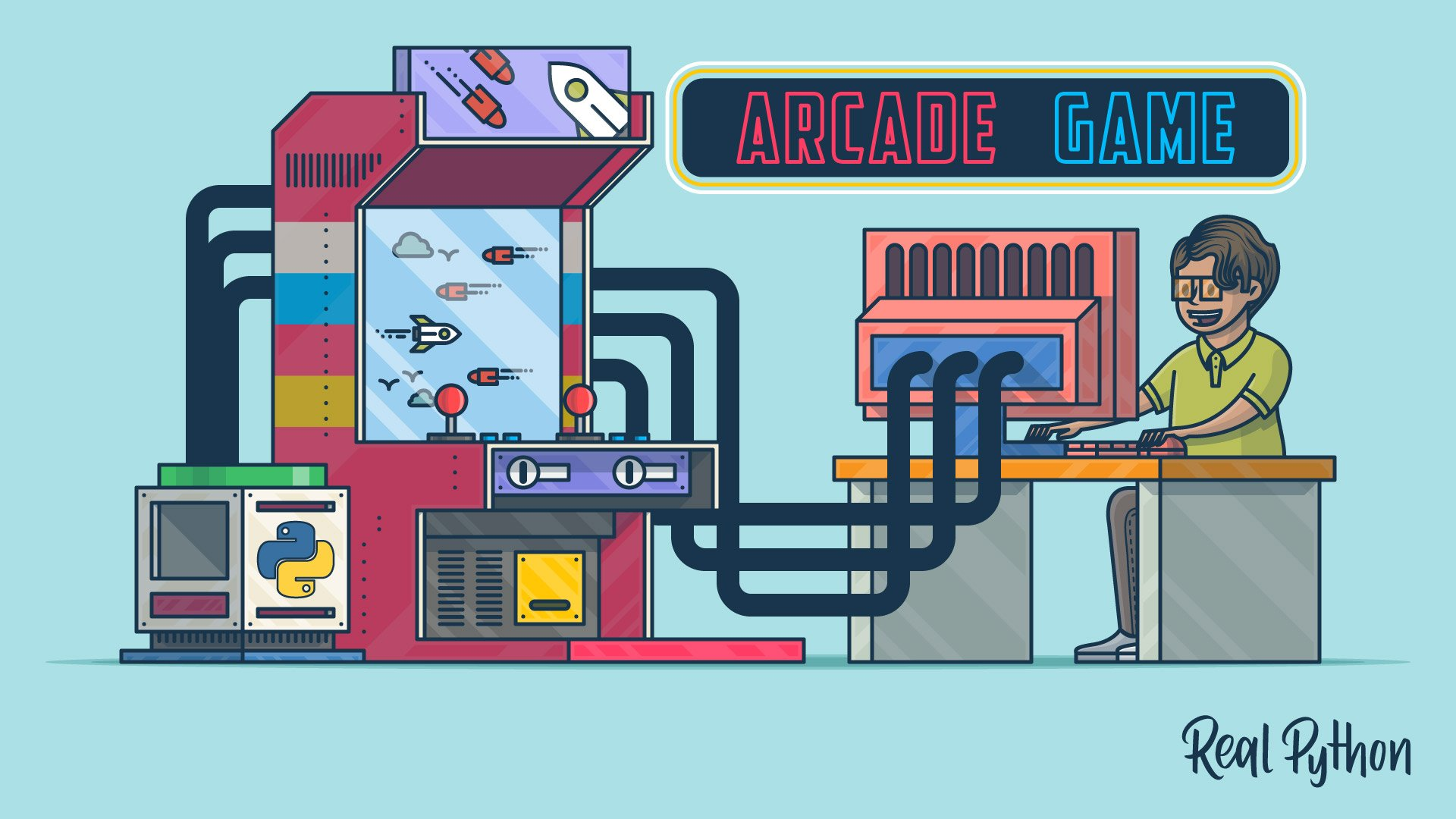 Arcade: A Primer on the Python Game Framework