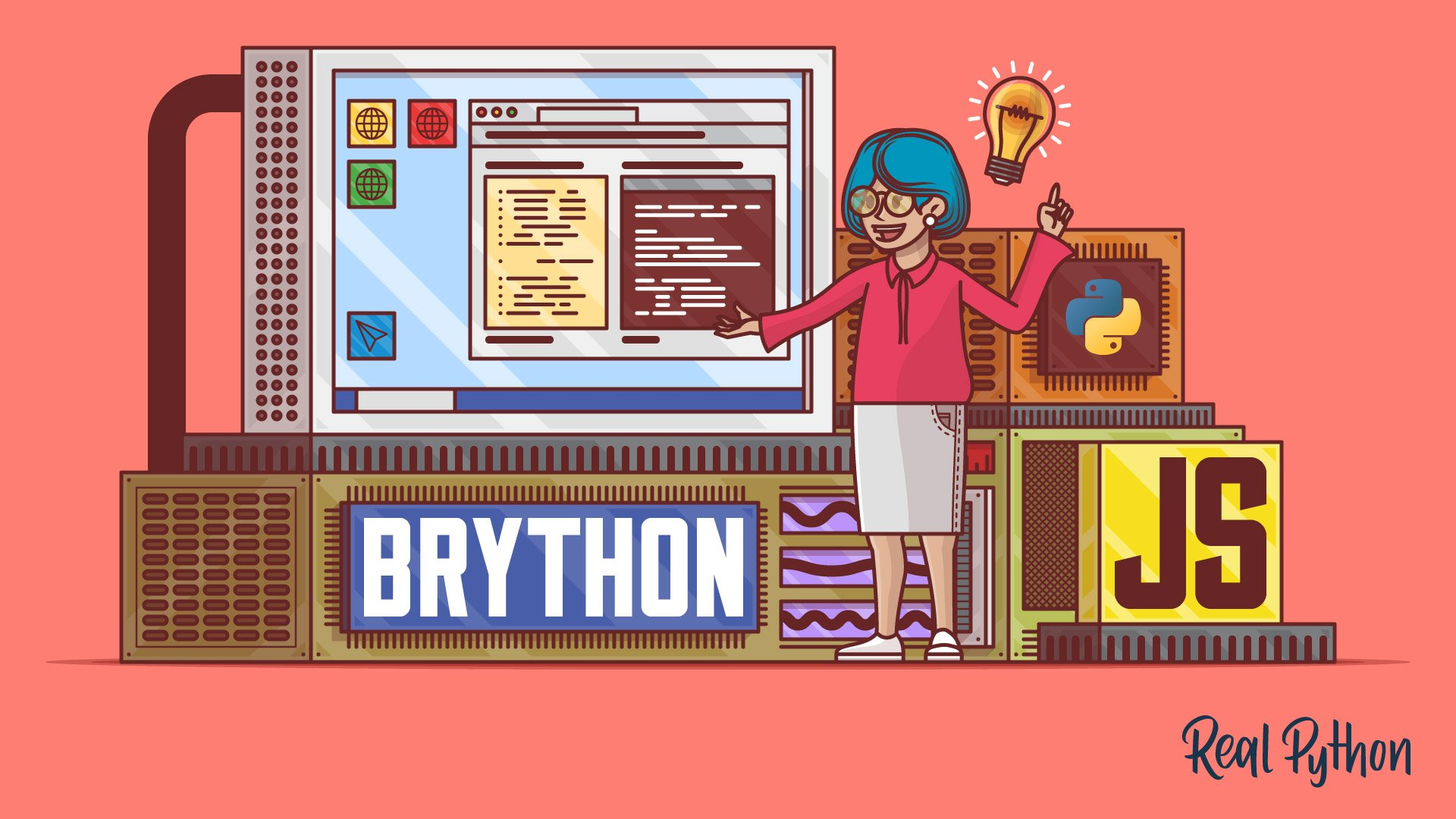 Brython: Python in Your Browser – Real Python