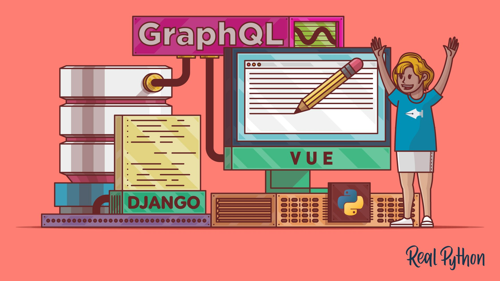 Build a Blog Using Django, Vue, and GraphQL