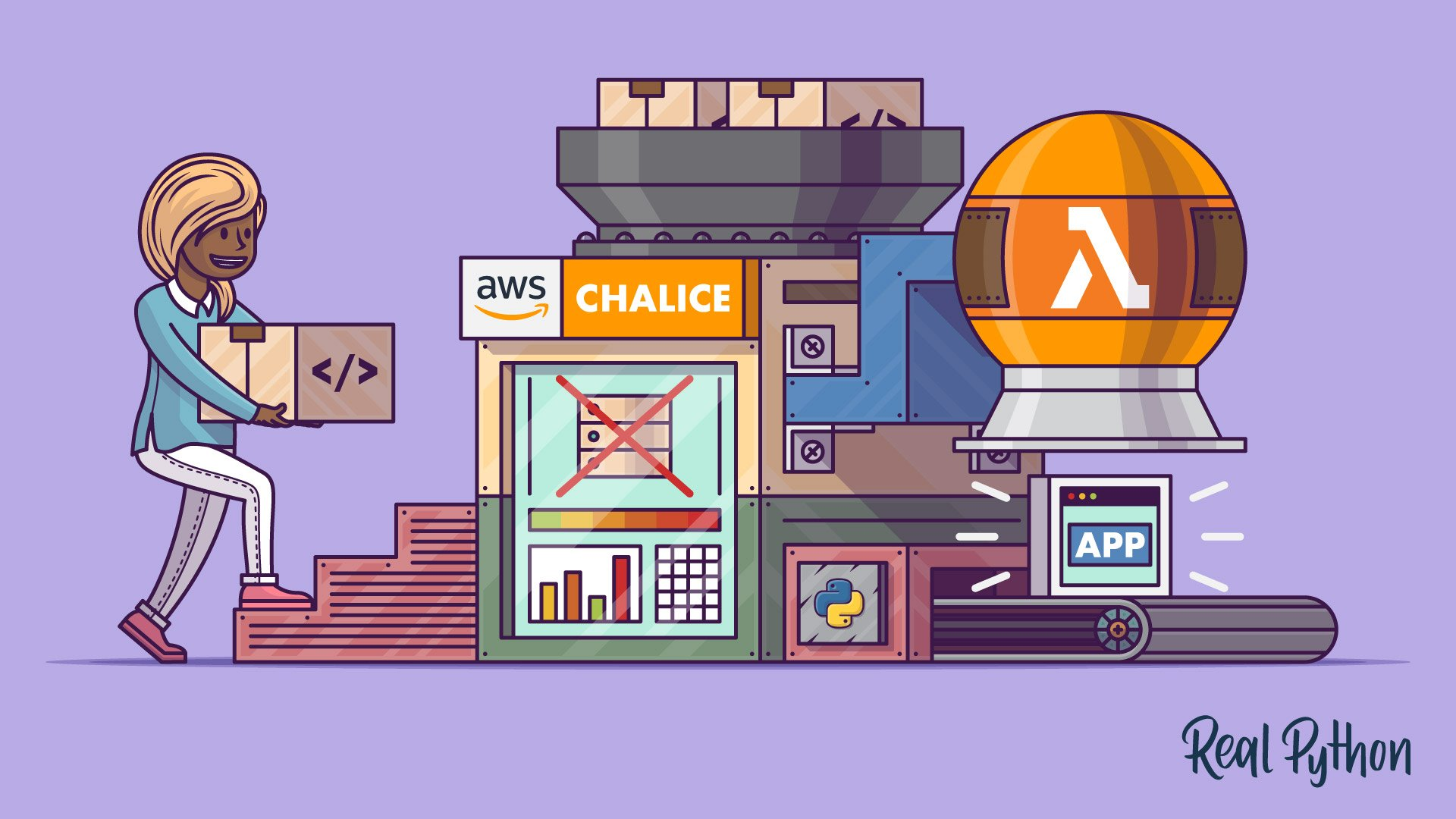 Building Serverless Python Apps Using AWS Chalice – Real Python