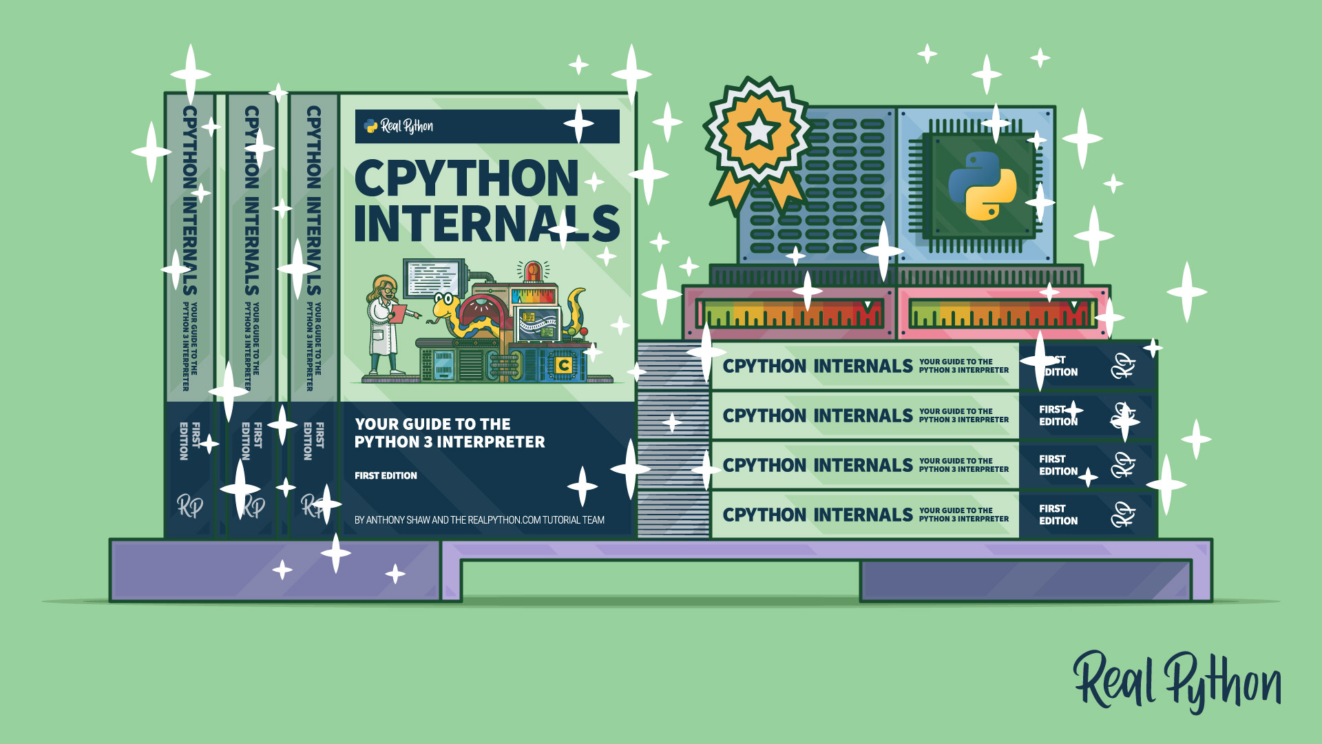 CPython Internals: Paperback Now Available!