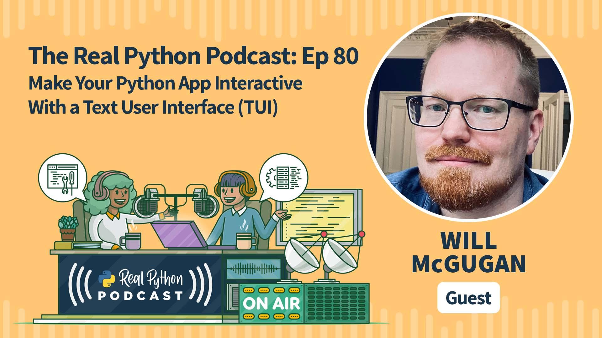 The Real Python Podcast Episode #80 Artwork