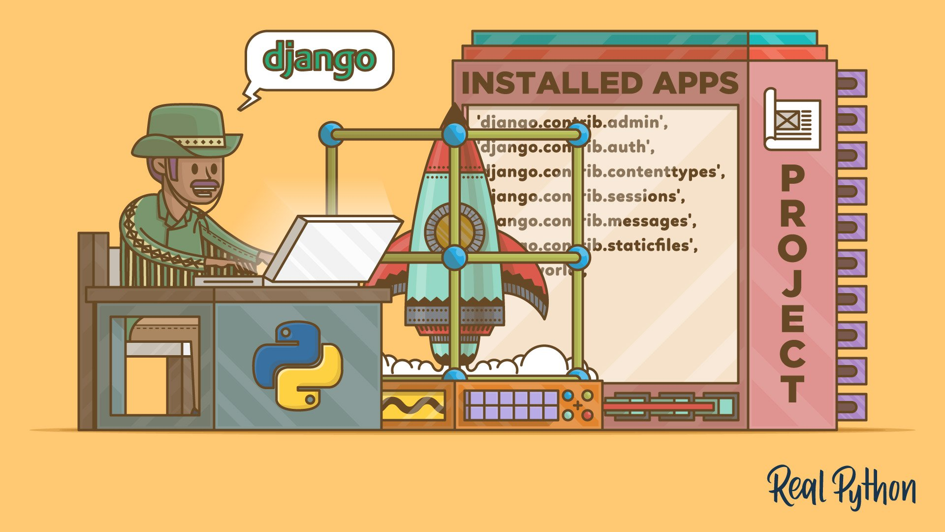 Get Started With Django Part 1: Build a Portfolio App – Real