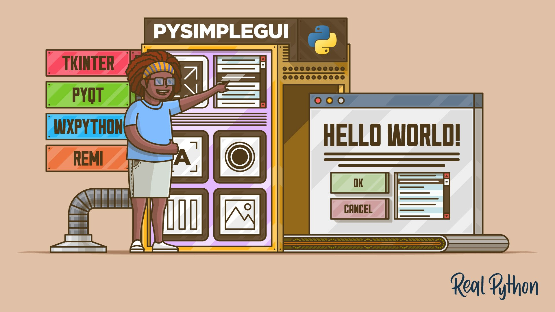 PySimpleGUI: The Simple Way to Create a GUI With Python