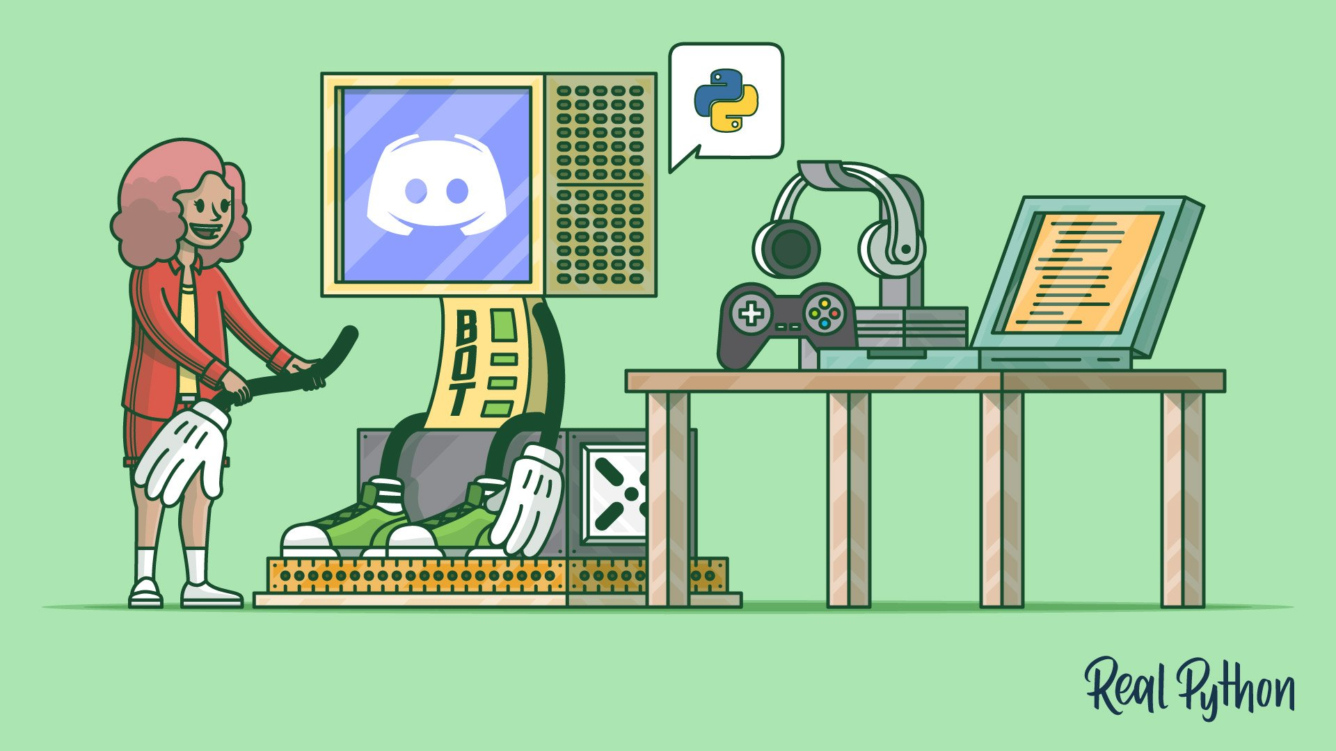 How to Make a Discord Bot in Python – Real Python