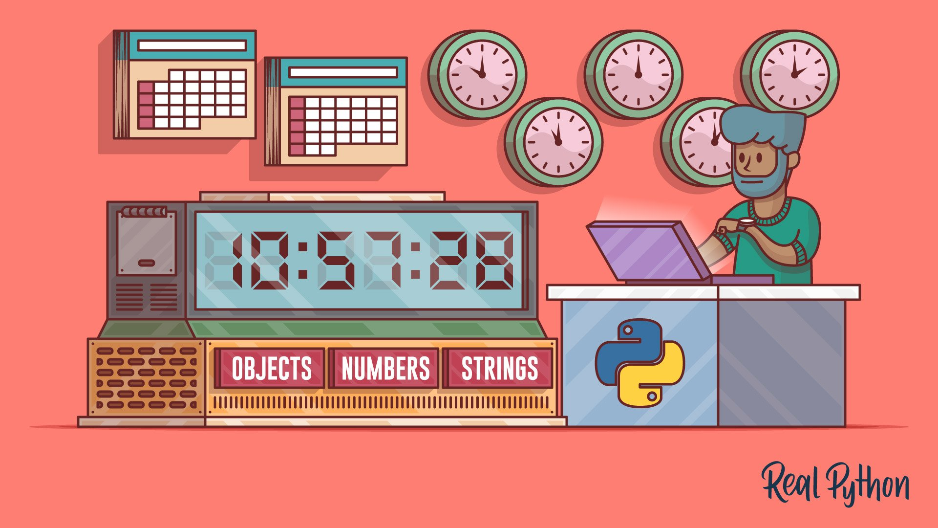 A Beginner's Guide to the Python time Module – Real Python