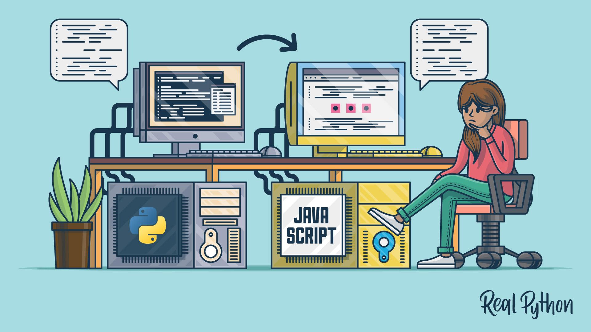 Python Vs Javascript For Pythonistas Real Python