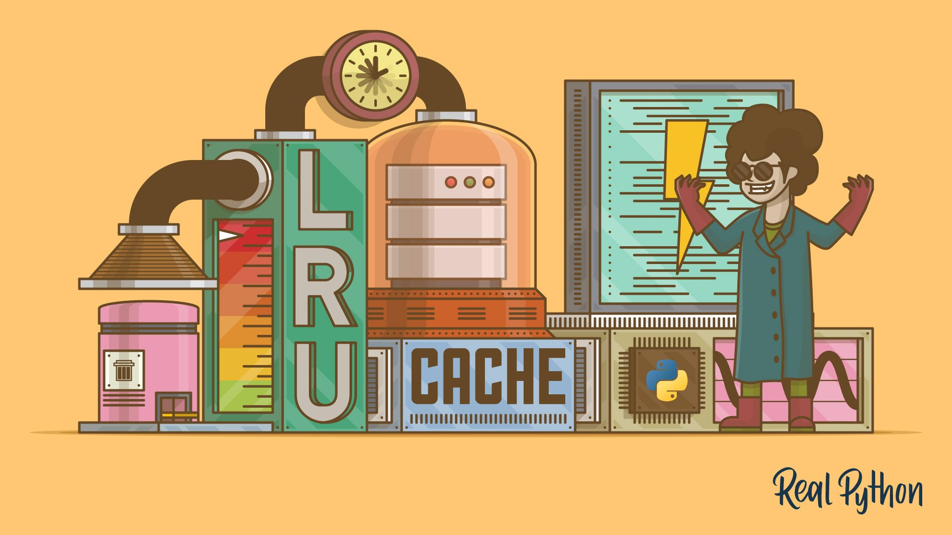 Caching in Python Using the LRU Cache Strategy