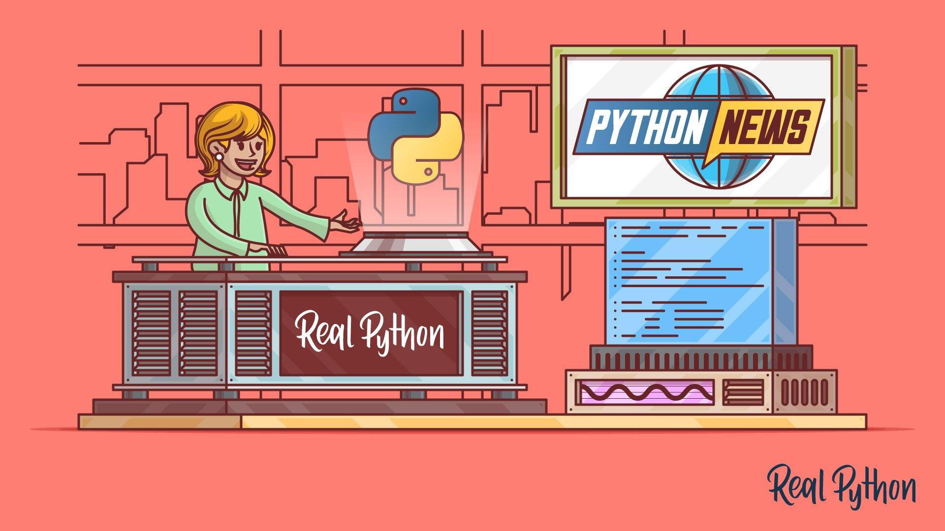 Python Monthly News
