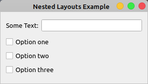 Nested Layouts Example
