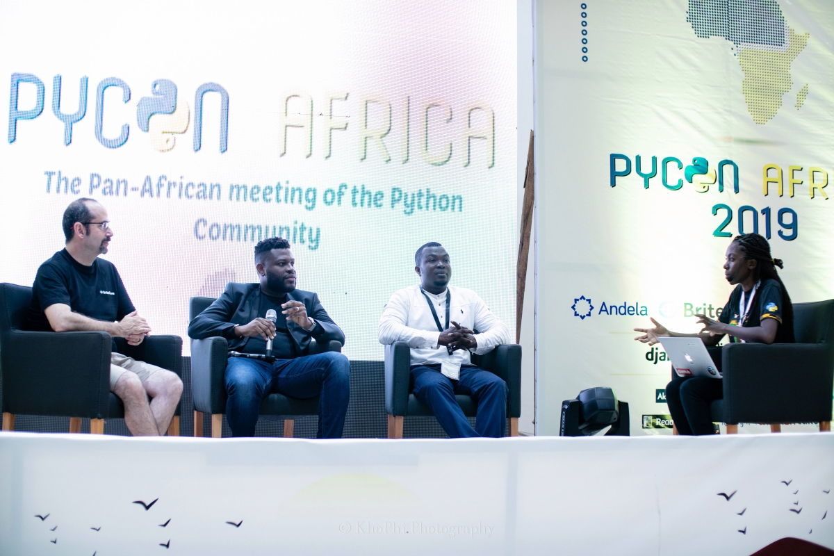 Panel Discussion At PyCon Africa