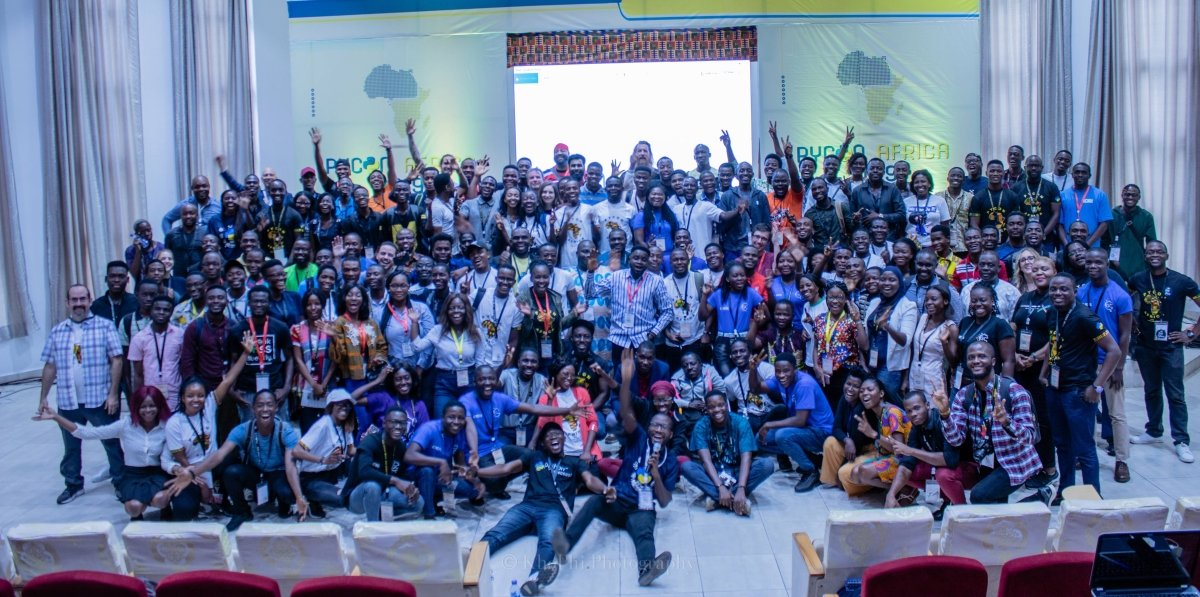 PyCon Africa Group Photo
