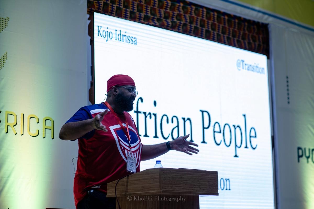 Kojo Idrissa PyCon Africa Talk