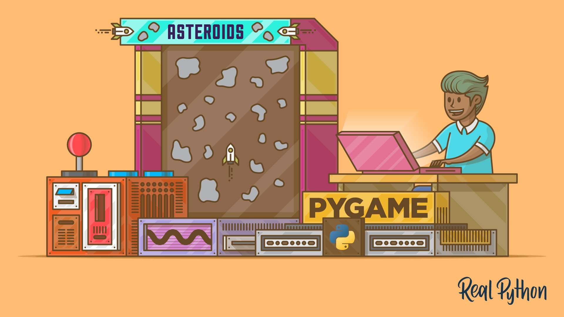 Build an Asteroids Game With Python and Pygame