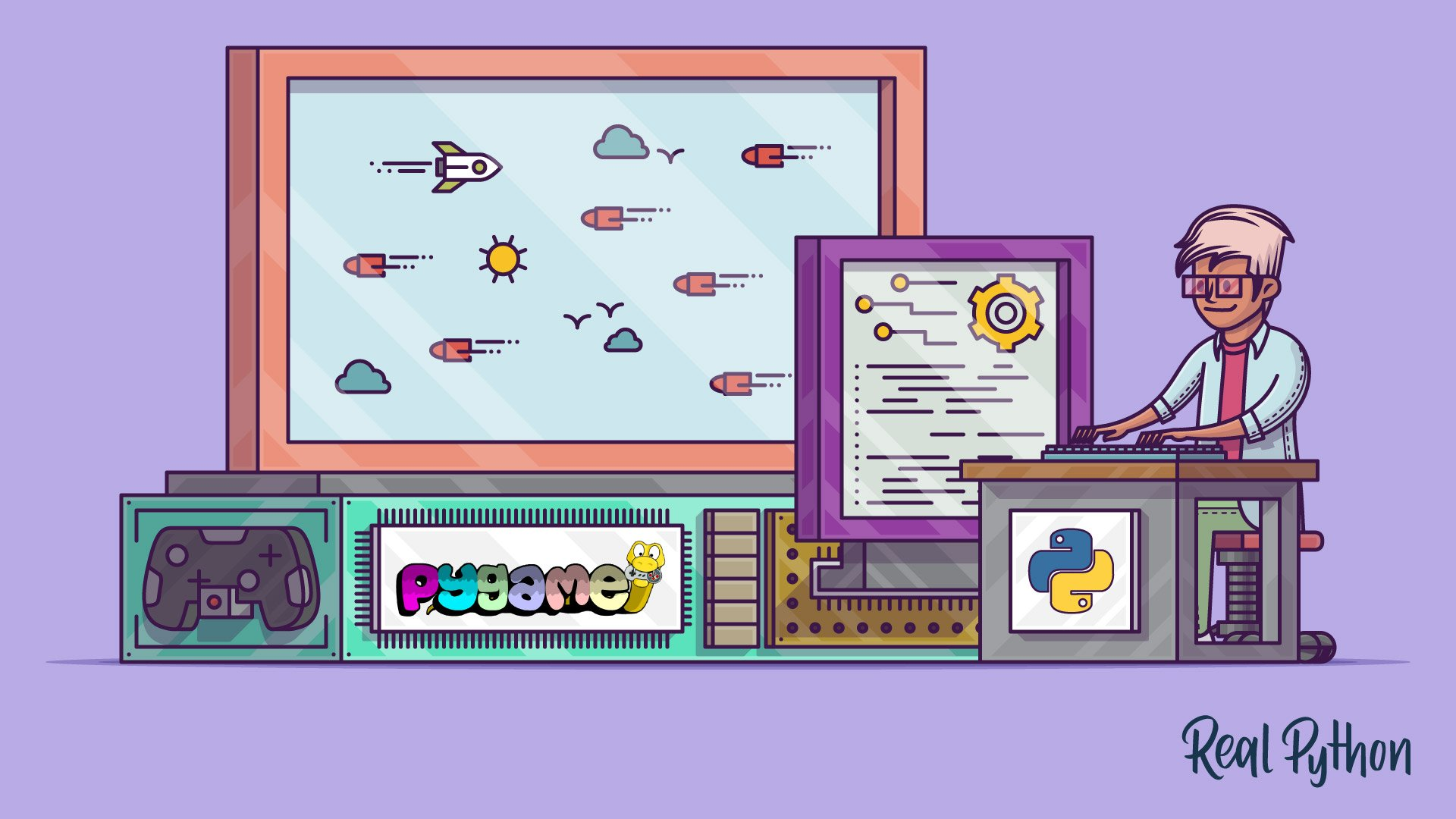 PyGame: A Primer on Game Programming in Python