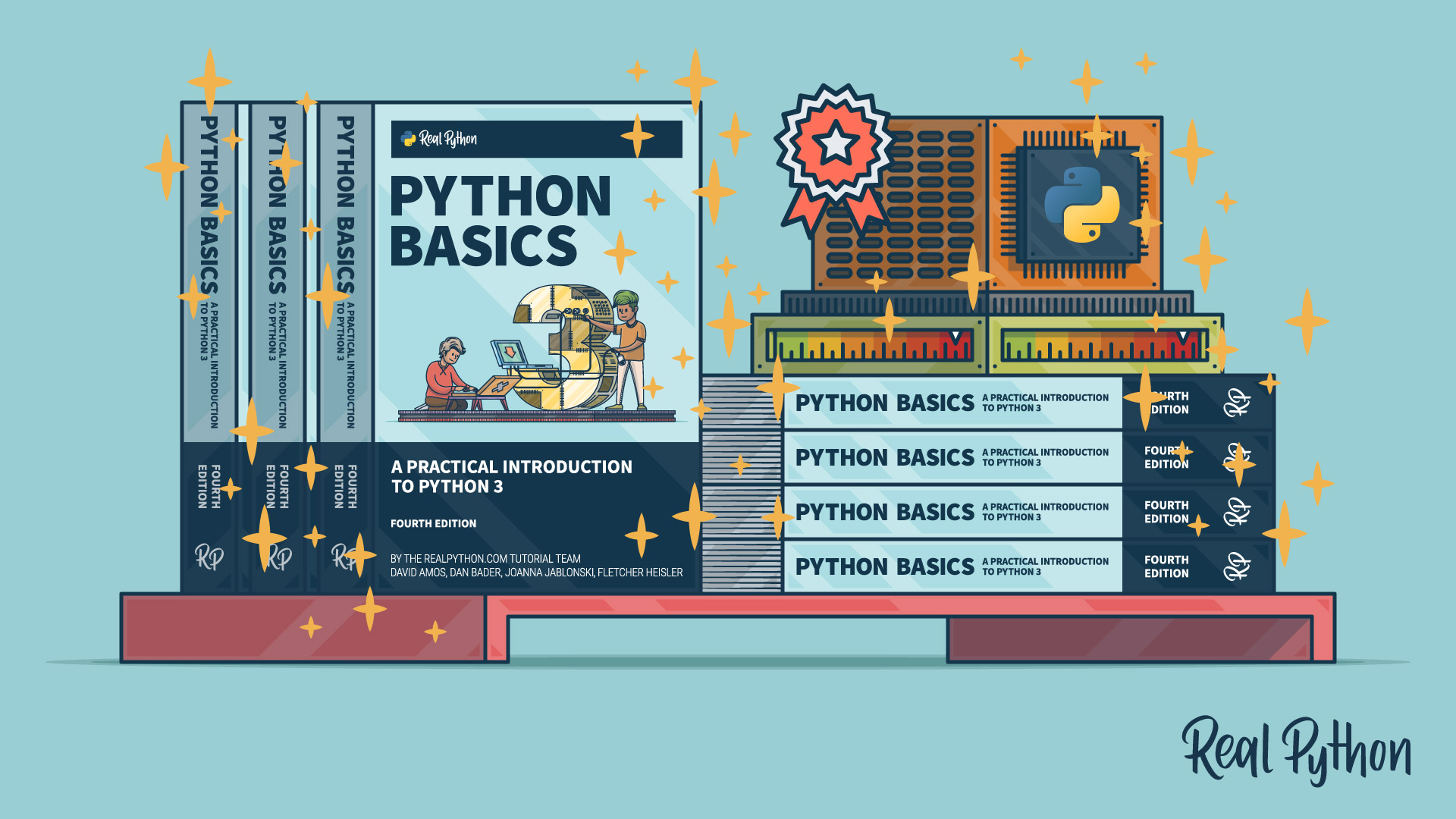 Python Basics: Paperback Now Available!