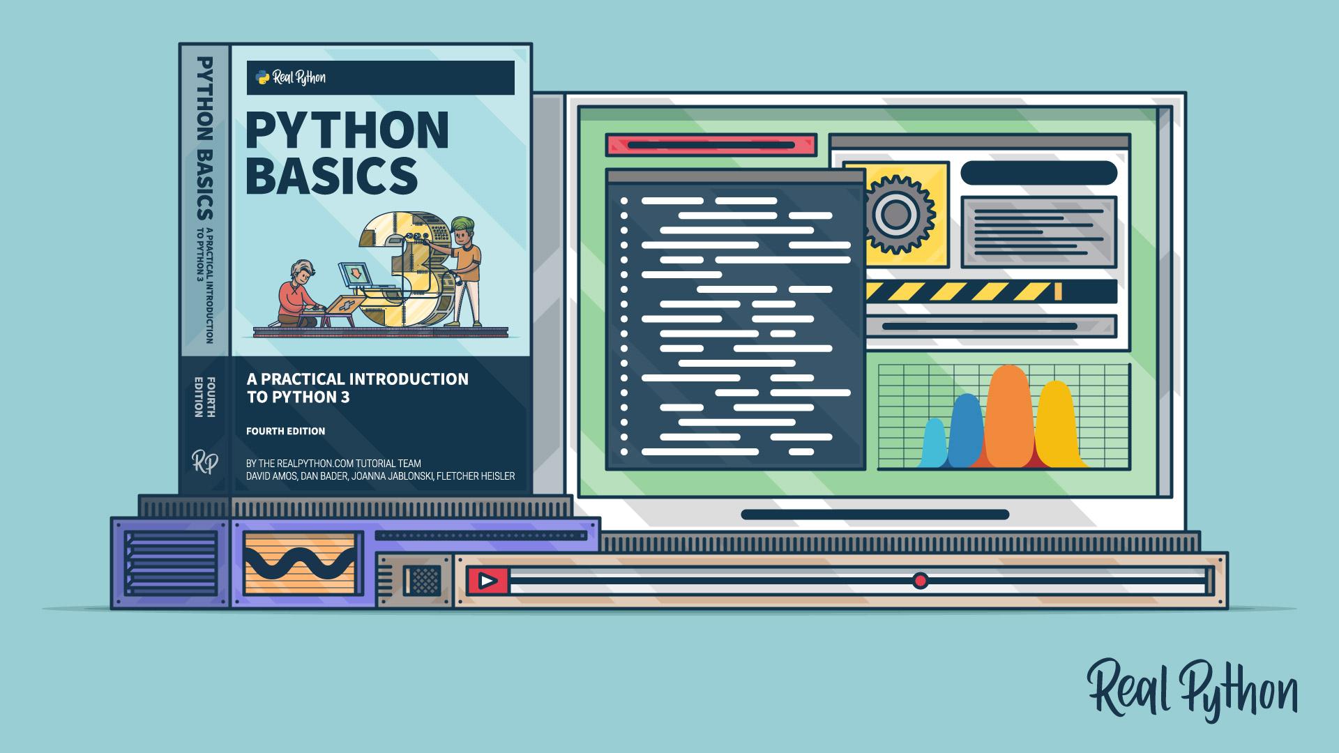 Python Basics Video Course Setup Artwork