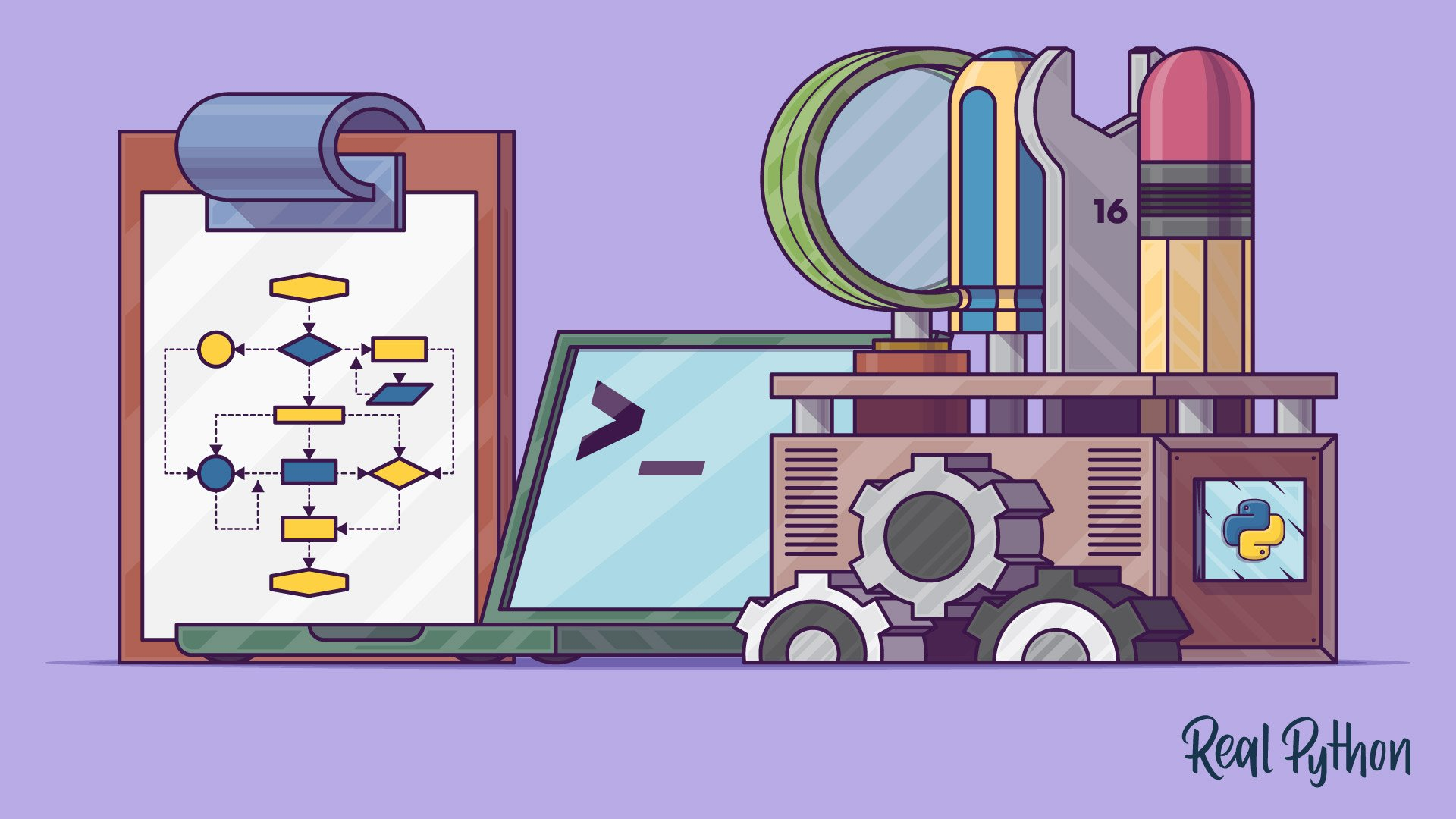 Python Dev-Ops artwork