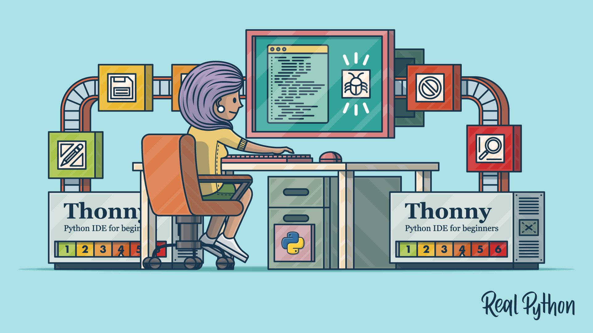 Thonny: The Beginner-Friendly Python Editor – Real Python