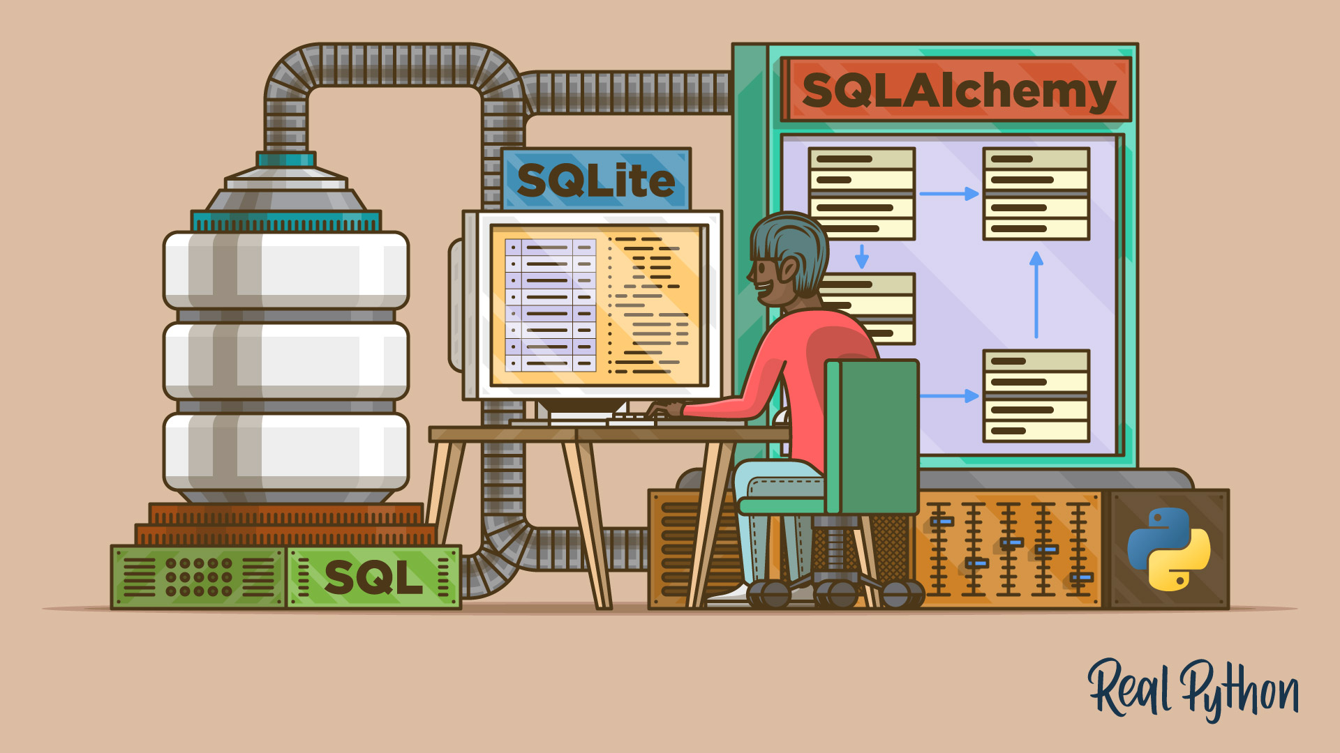Data Management With Python, SQLite, and SQLAlchemy