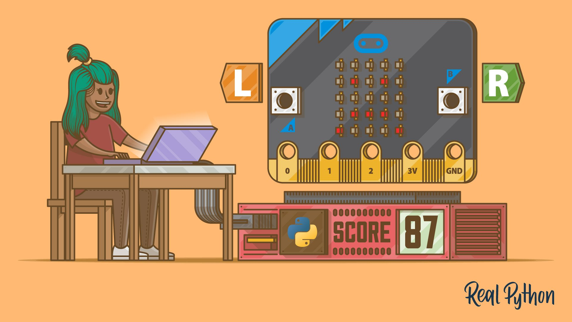 Embedded Python: Build a Game on the BBC micro:bit