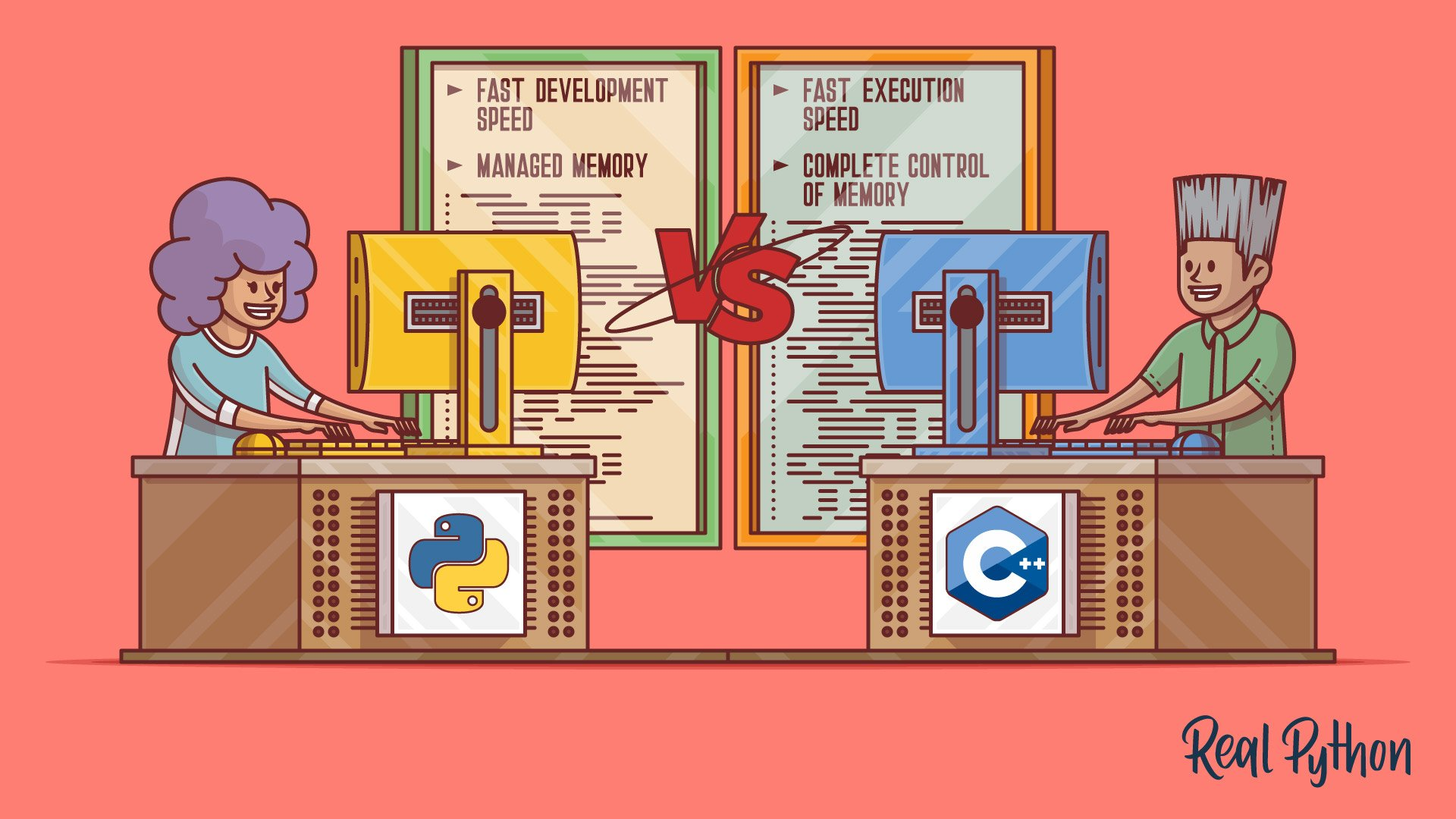 Python vs C++: Selecting the Right Tool for the Job
