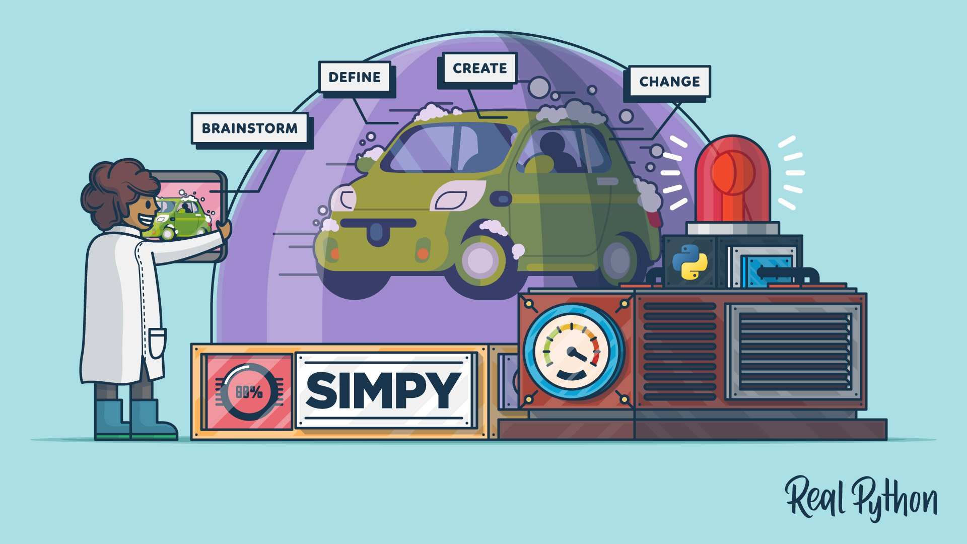 SimPy: Simulating Real-World Processes With Python