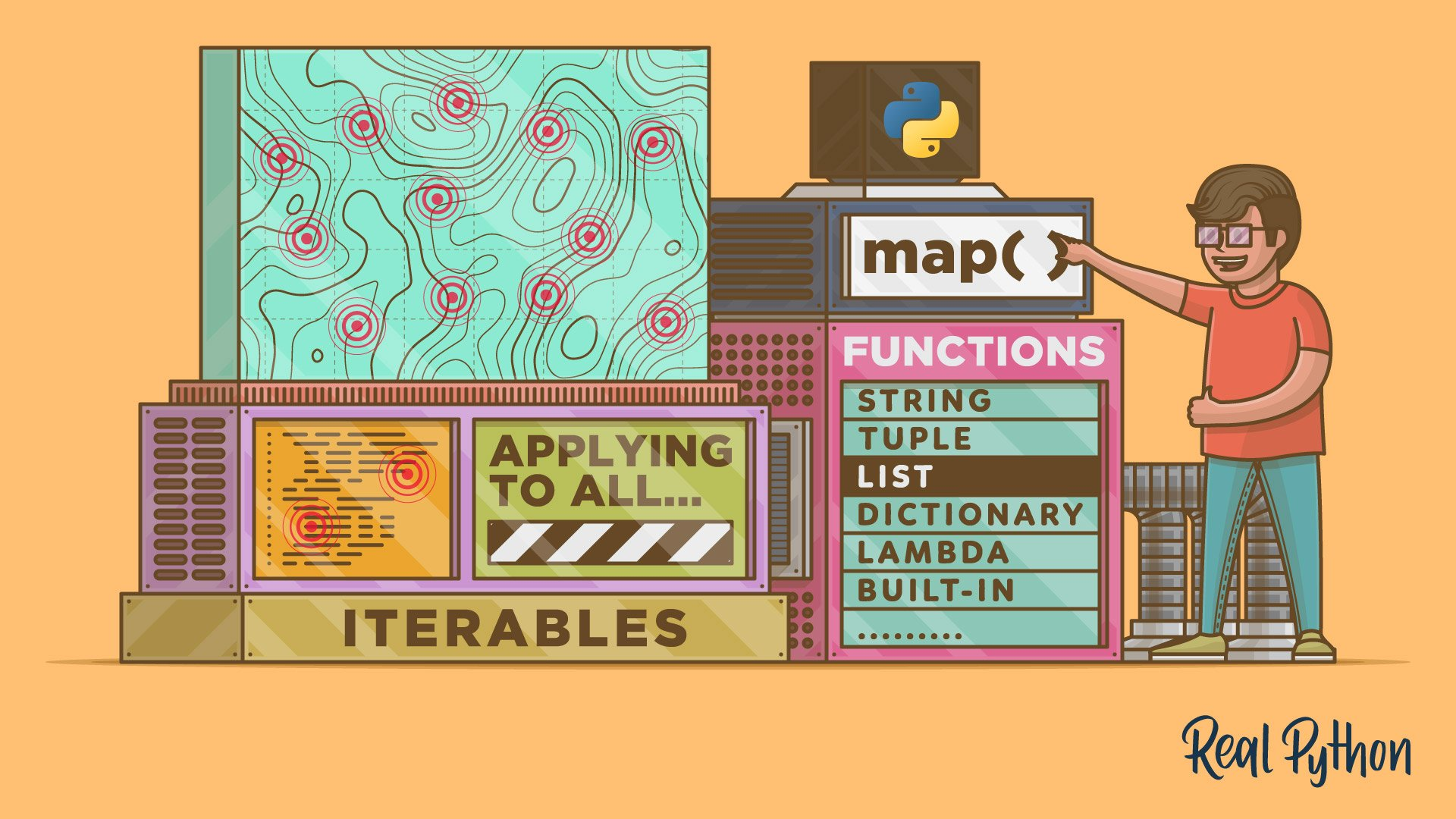 Python's map(): Processing Iterables Without a Loop