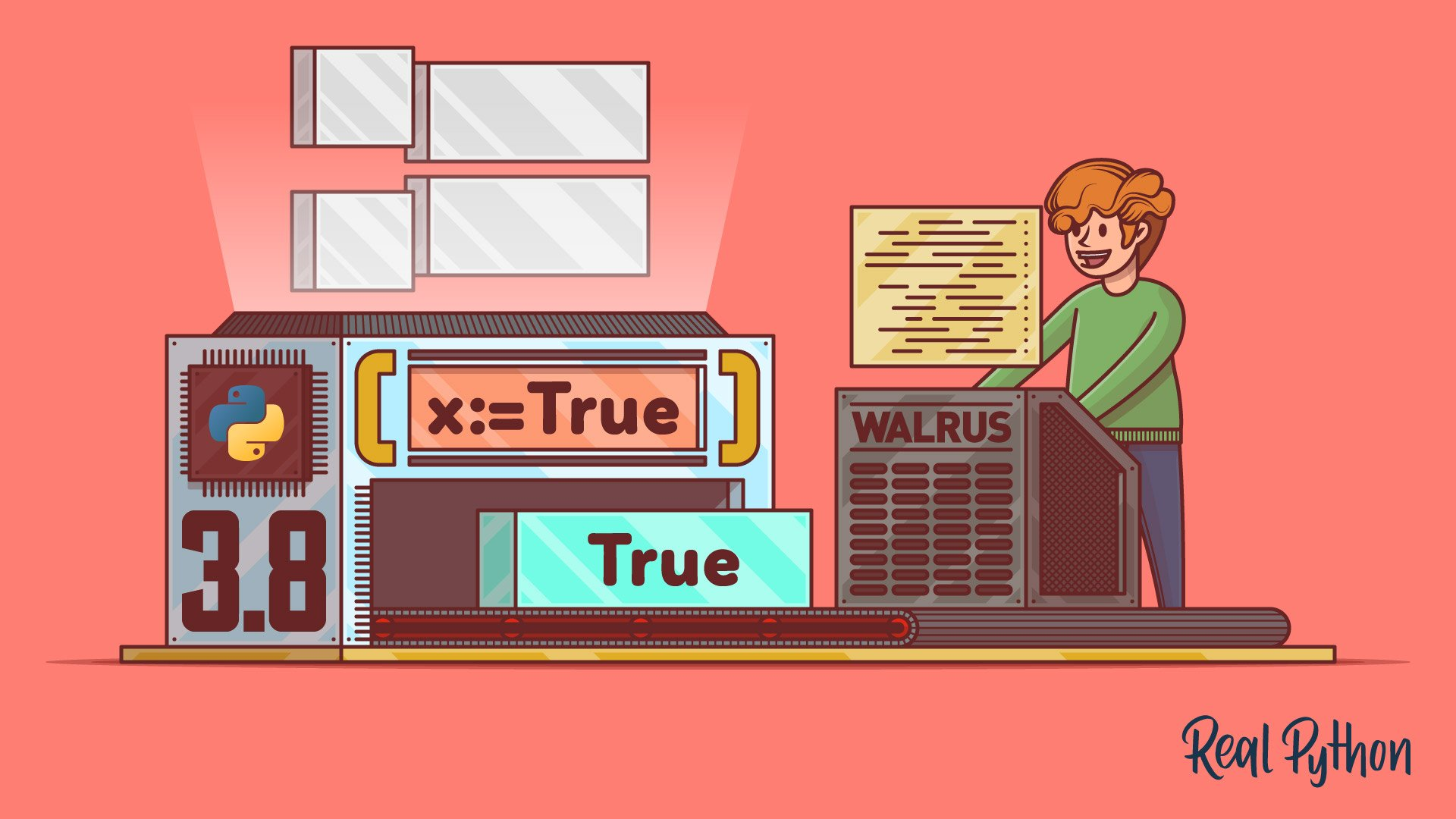 The Walrus Operator: Python 3.8 Assignment Expressions