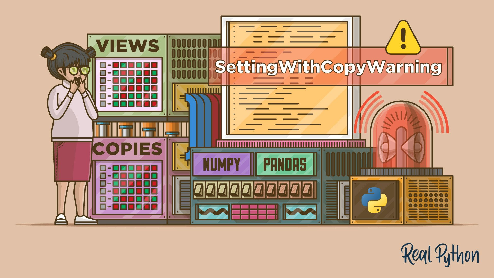 SettingWithCopyWarning in Pandas: Views vs Copies