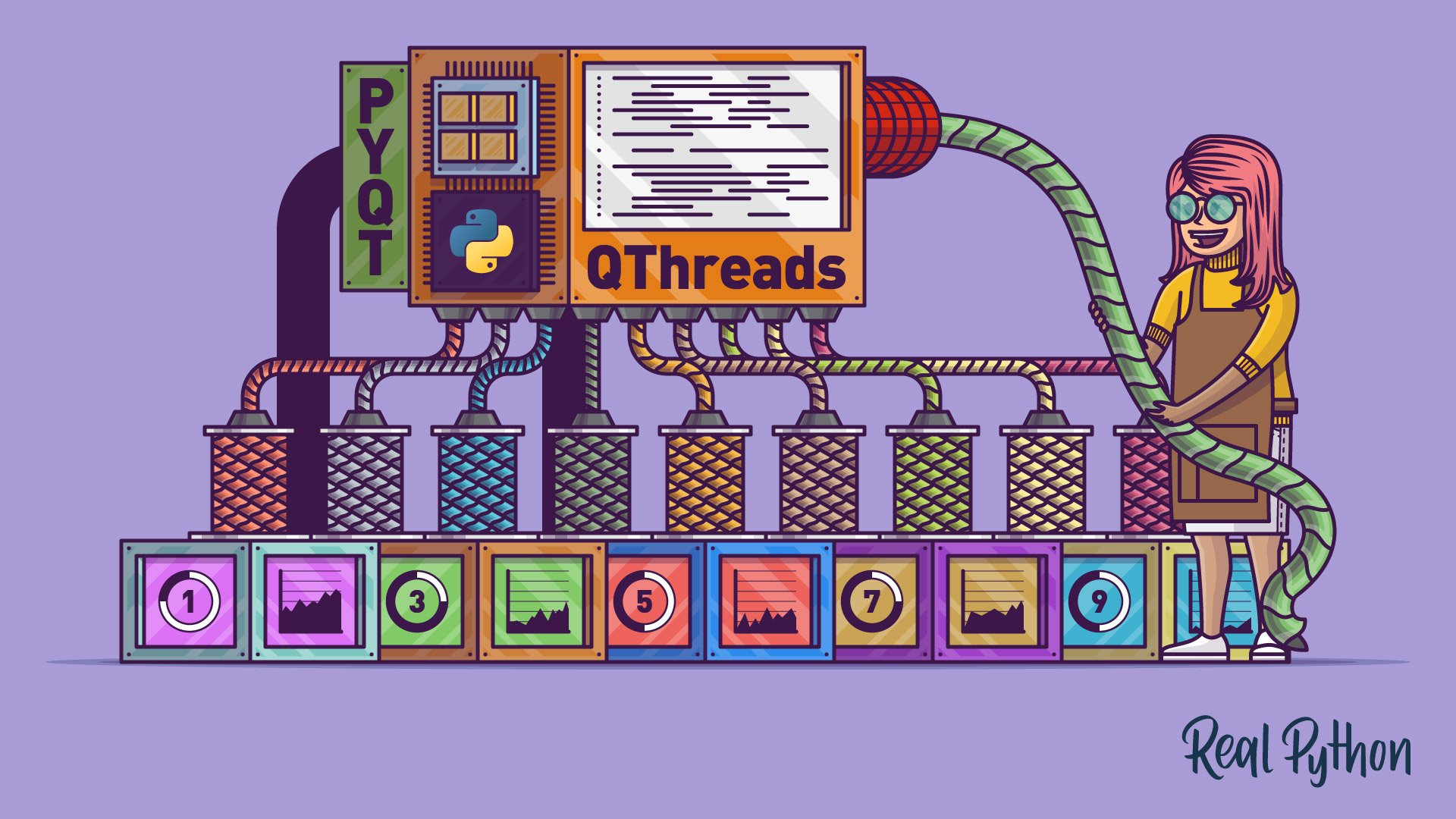 Use PyQt's QThread to Prevent Freezing GUIs