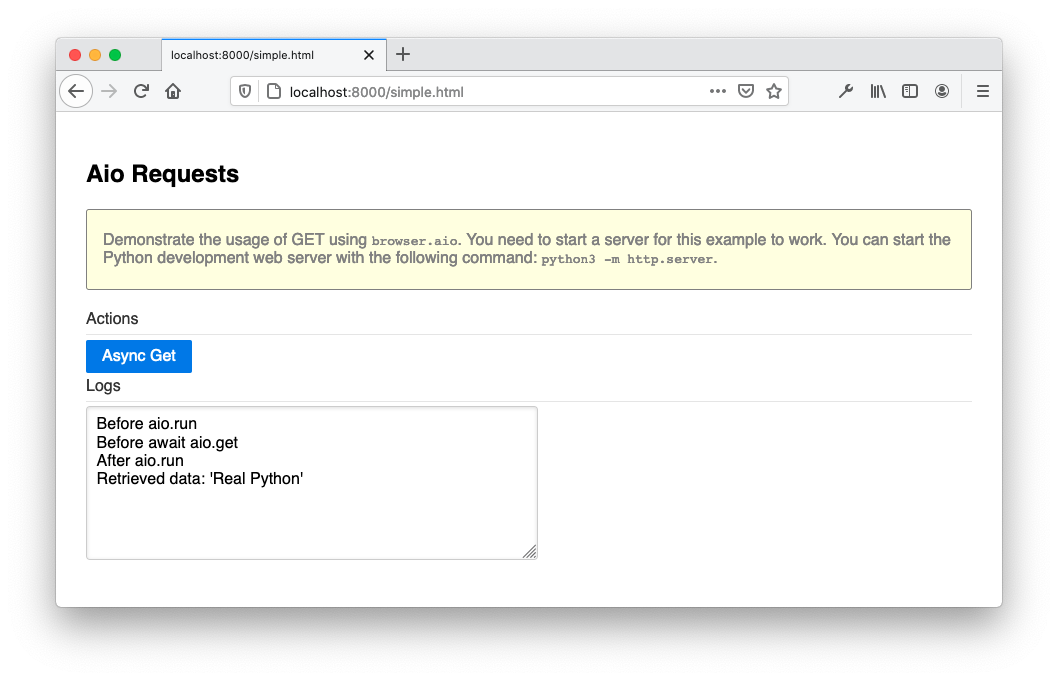 Browser Aio