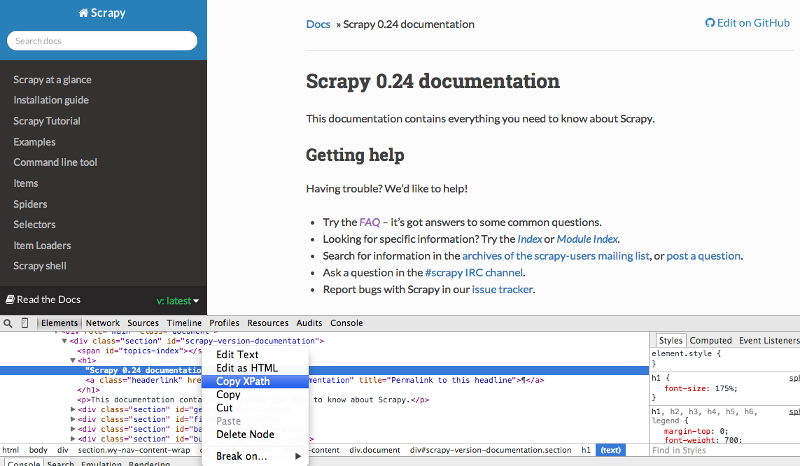 Web Scraping with Scrapy and MongoDB – Real Python
