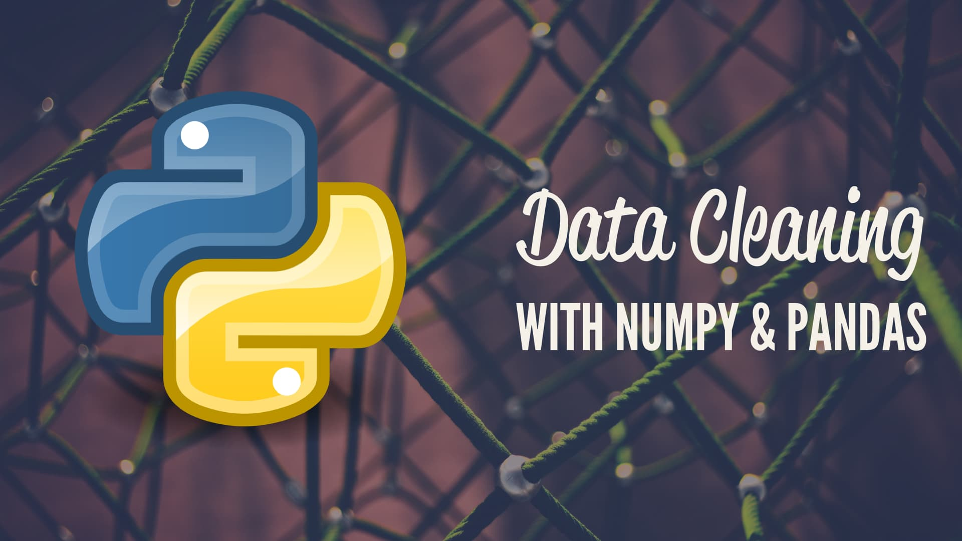 Python Data Cleaning With NumPy and Pandas