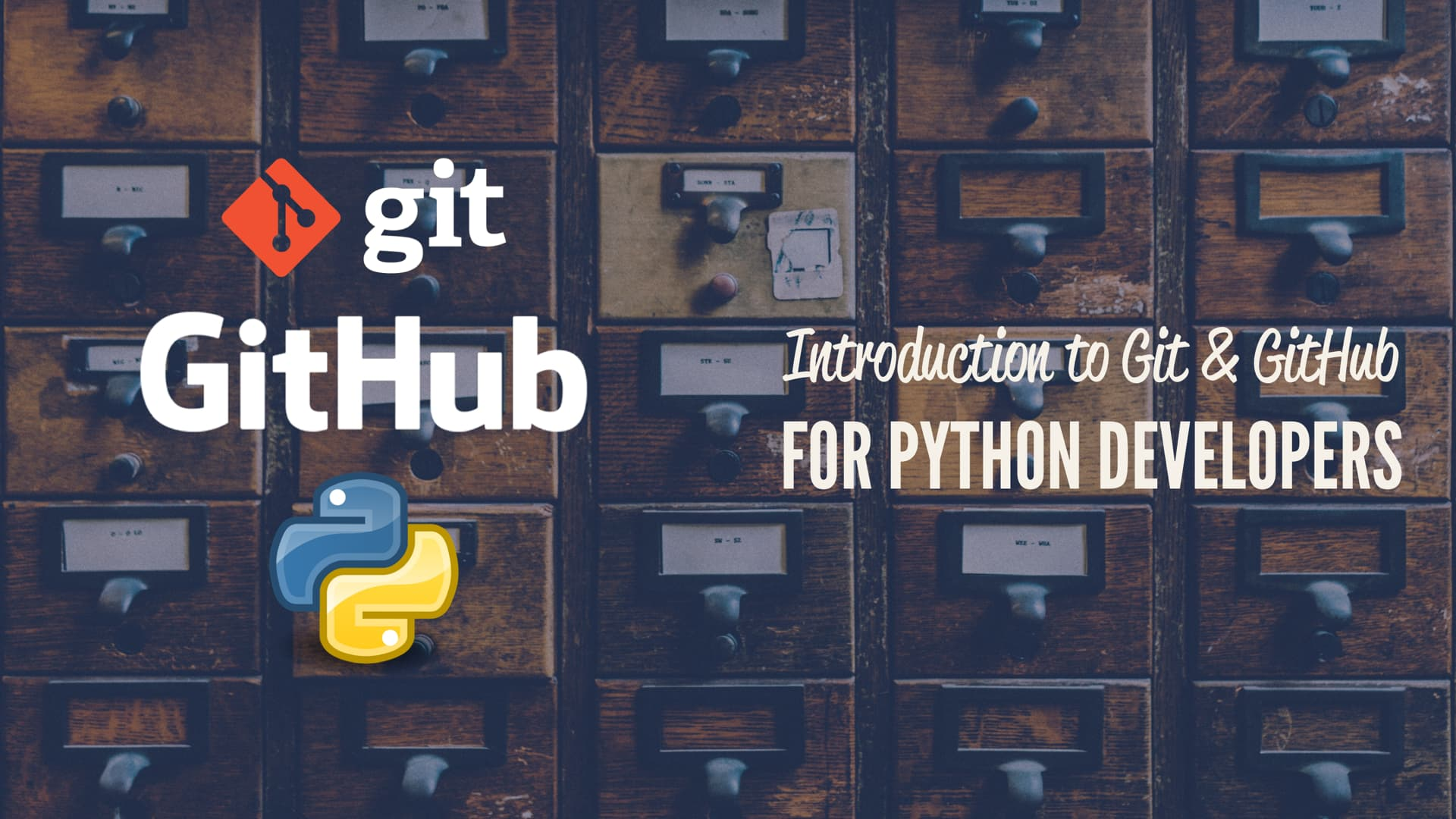 Introduction to Git and GitHub for Python Developers