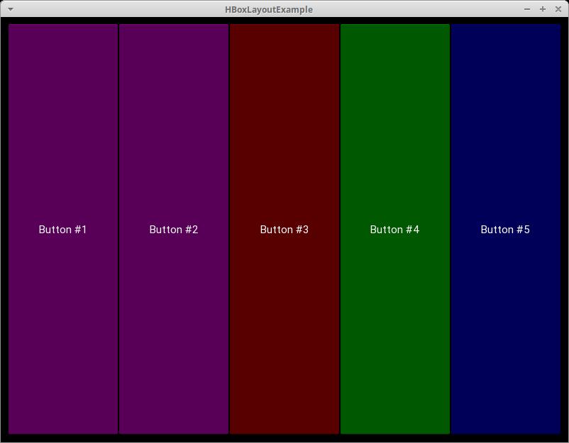 Using a Horizontal BoxLayout in Kivy