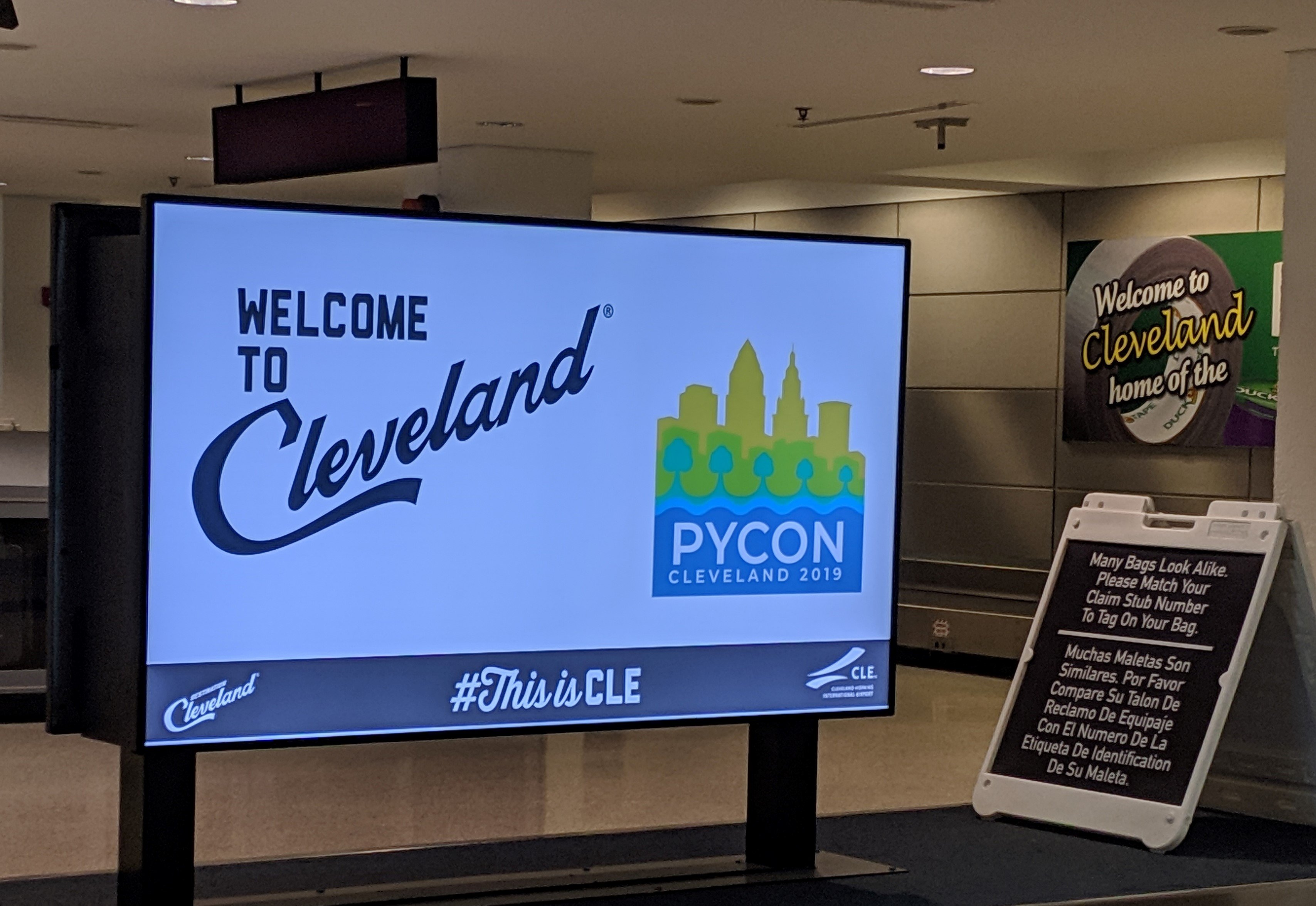 Welcome to Cleveland PyCon 2019
