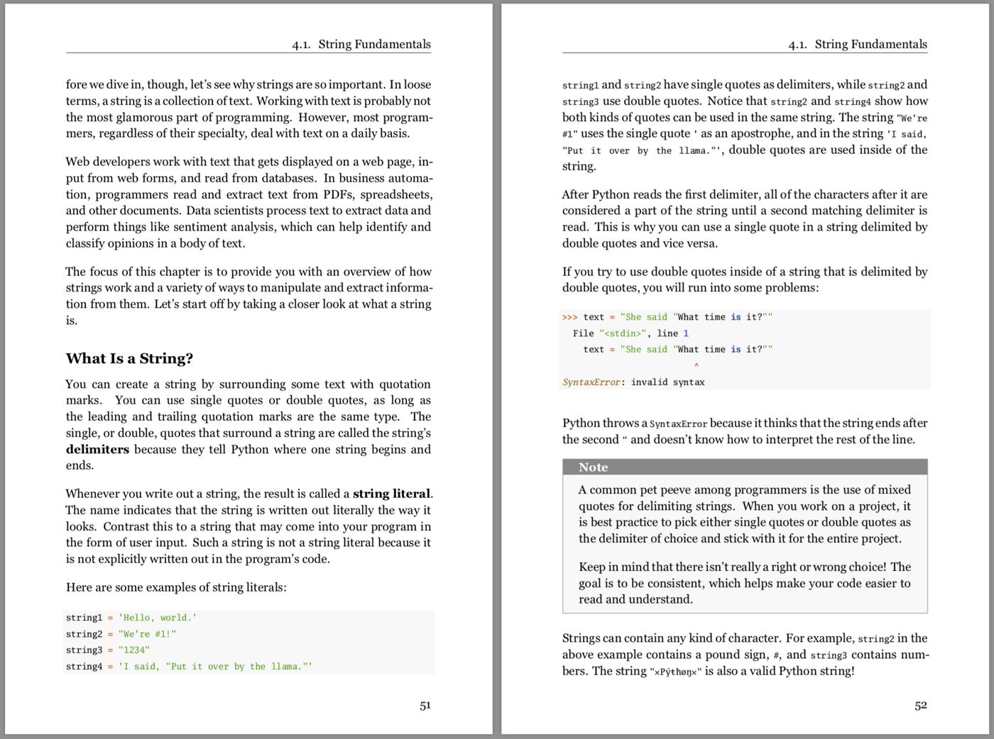 Python Basics Book – Real Python