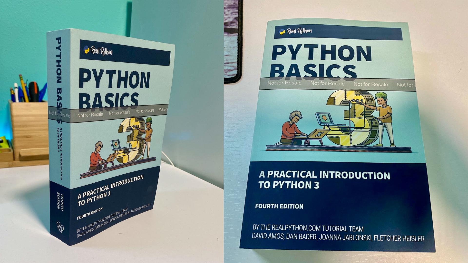 Python Basics Book (Print Copy)