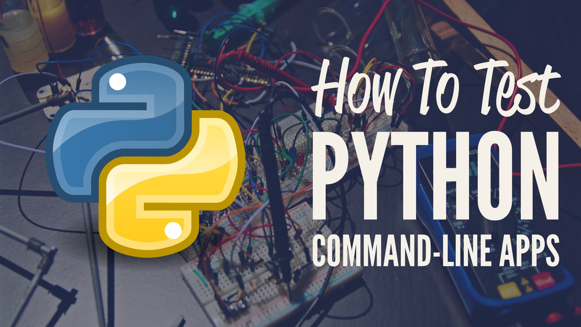 Testing Python Command-Line Apps