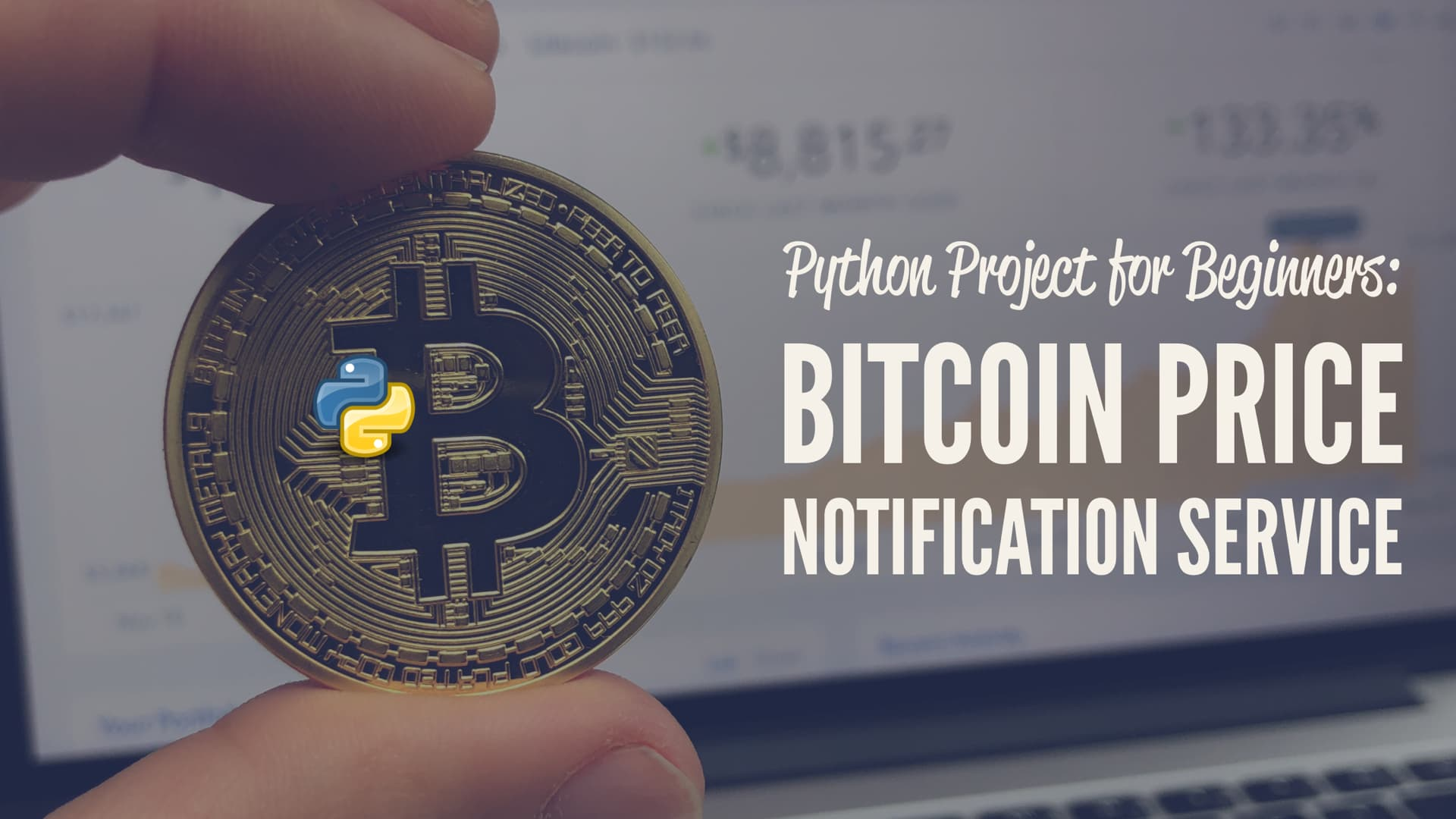 Python Project for Beginners: Bitcoin Price Notification Service