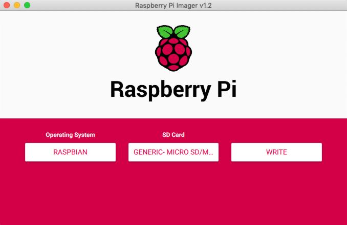 Raspberry Pi Imager Write