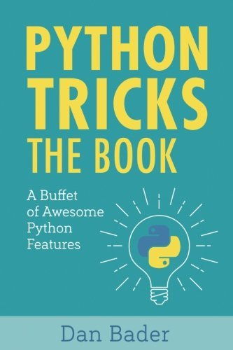 """Python Tricks"" Book Cover"