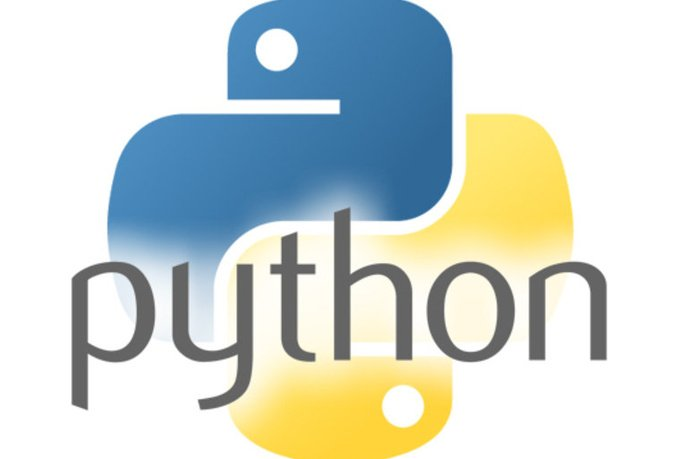 The Python Logo. The Python logo is a trademark of the Python Software Foundation.