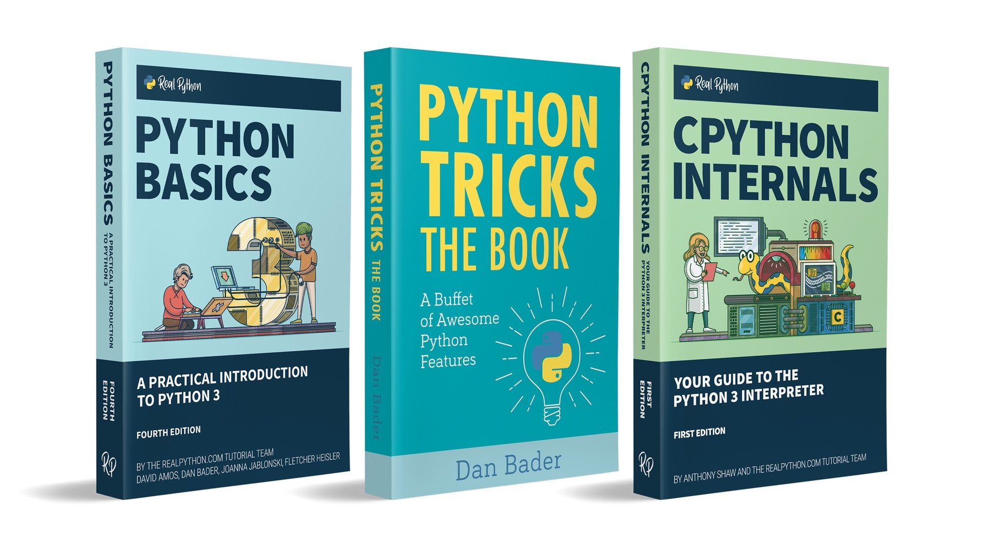 Python Books published by Real Python