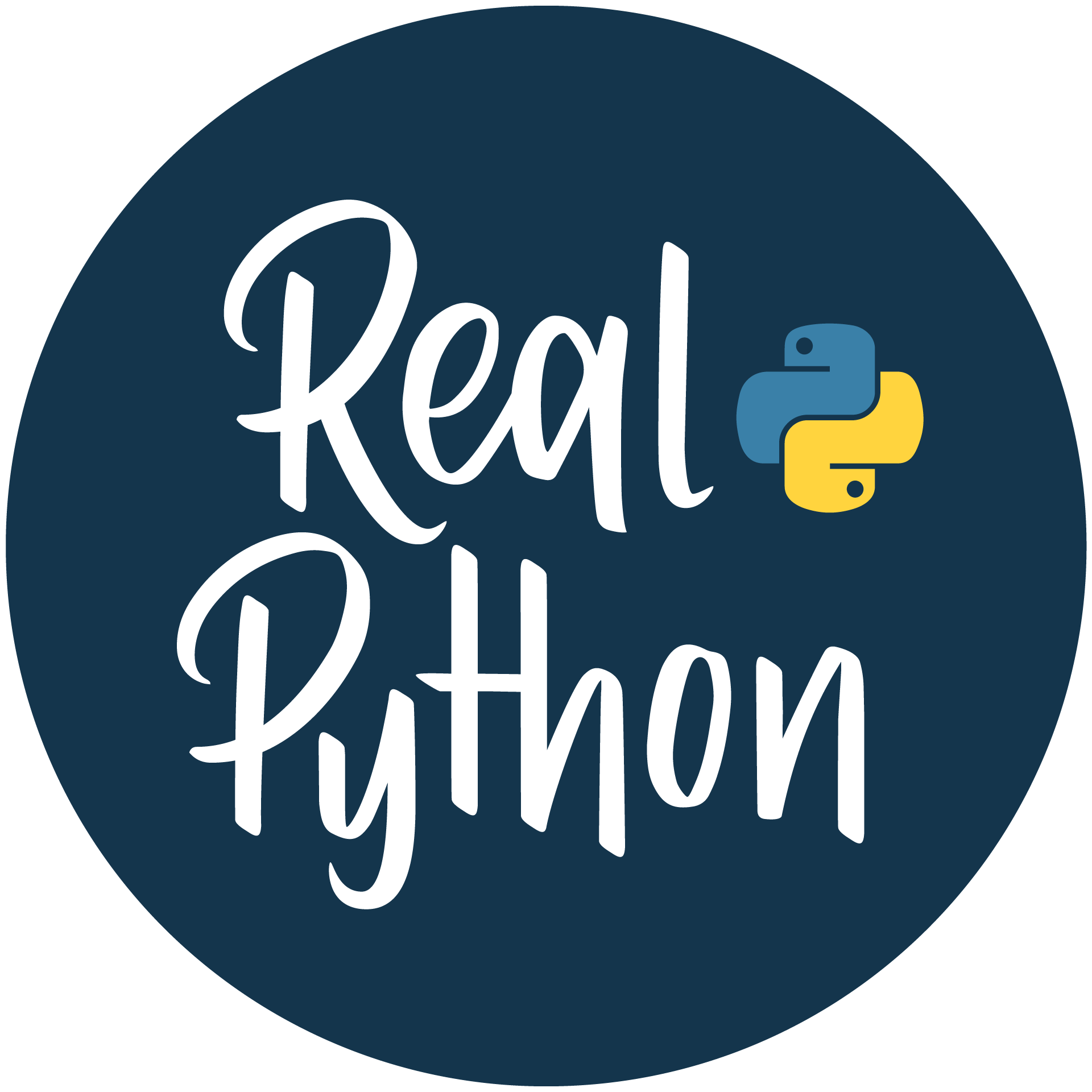 Real Python Logo