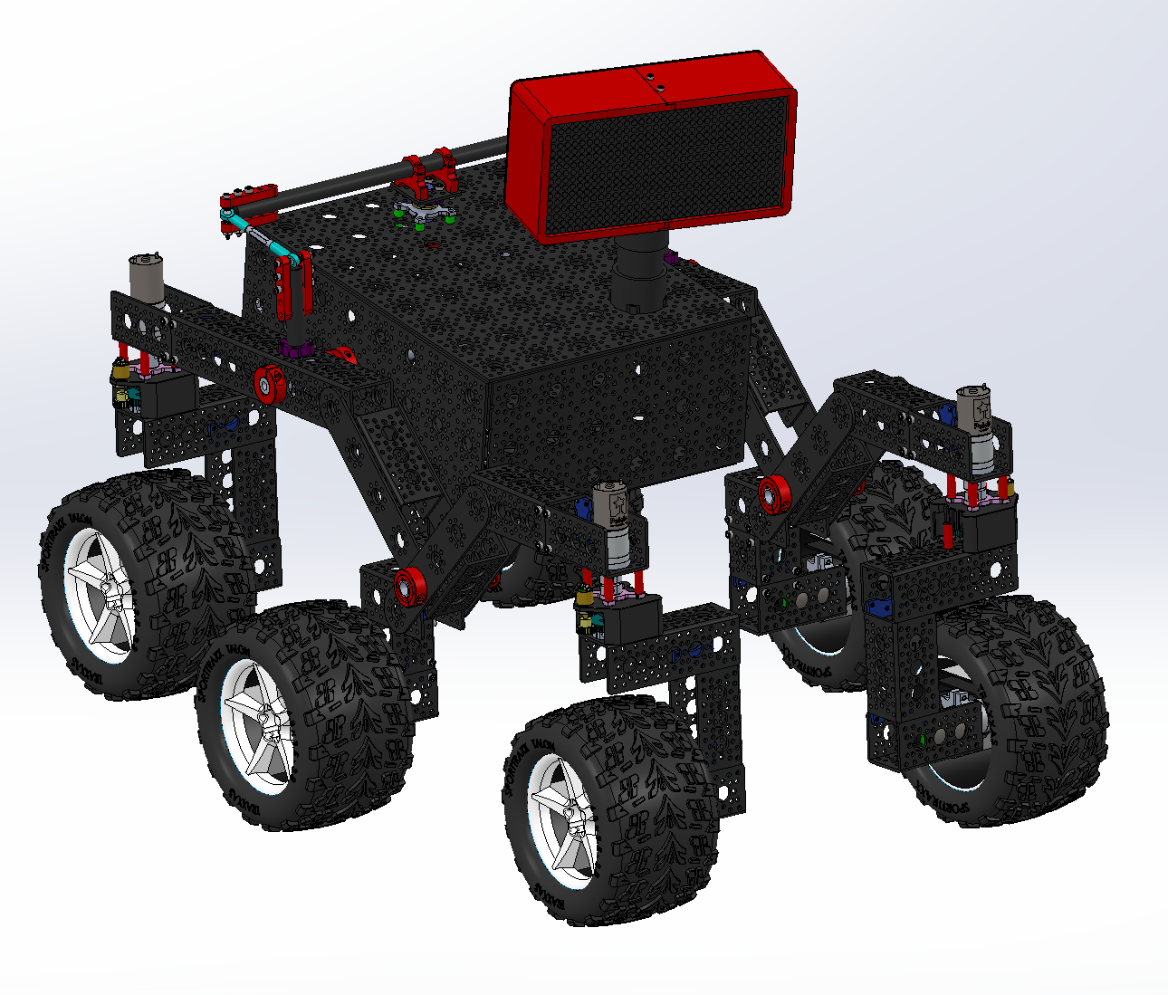 NASA's JPL Open Source Rover