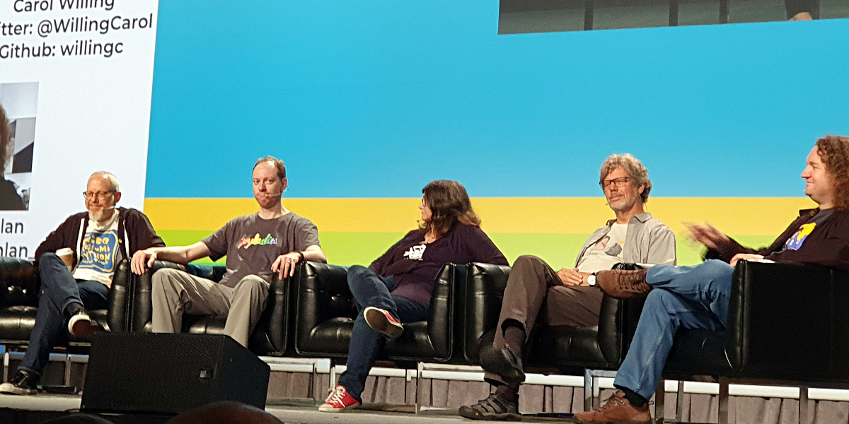 The Python Steering Council at PyCon 2019